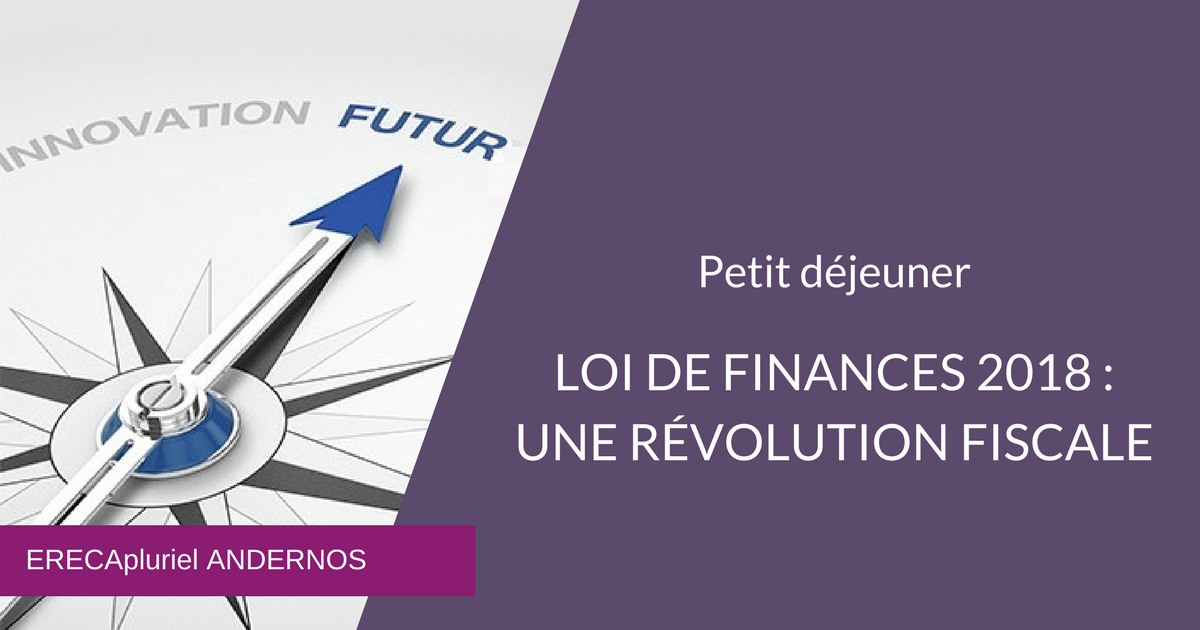Loi de Finances Andernos 2018