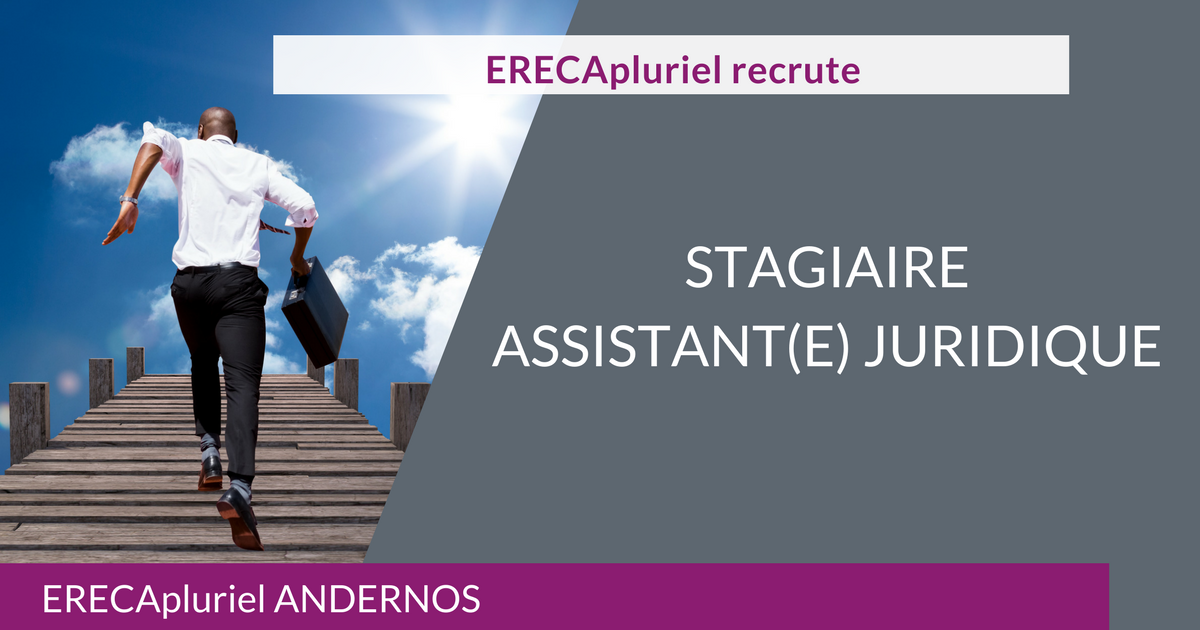 Stagiaire Assistante Juridique – agence d'Andernos