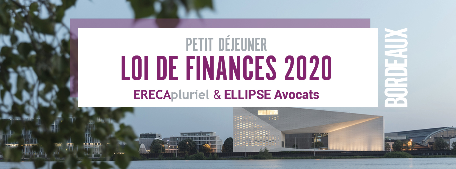 Soirée Loi de Finances Pauillac