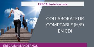 Collaborateur Comptable (H/F) CDI - Agence d'Andernos