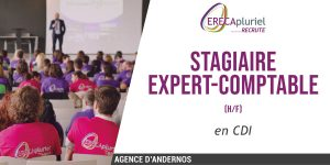 Stagiaire Expert Comptable (H/F) CDI - Agence d'Andernos