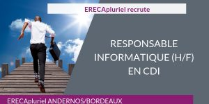 POURVU - Responsable Informatique - CDI