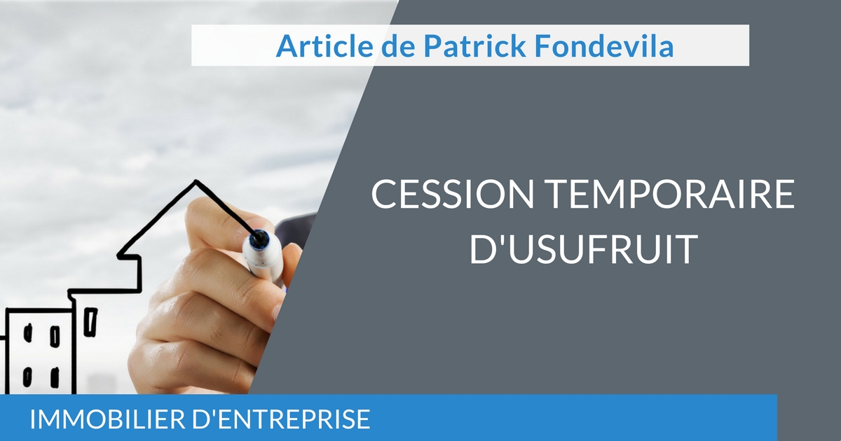 Cession Temporaire d'Usufruit