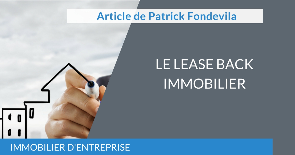 Le lease back immobilier
