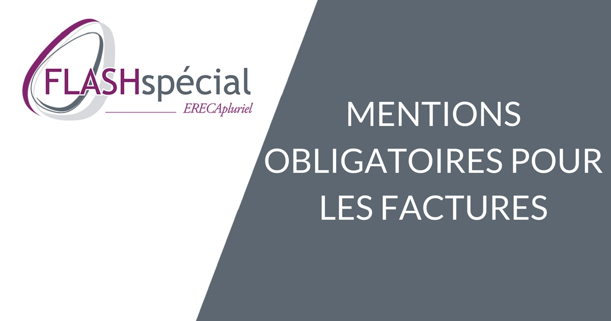 FLASH SPECIAL – Mentions obligatoires