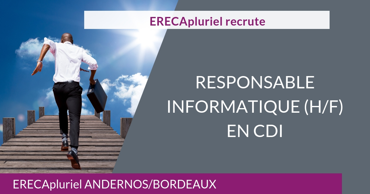Responsable Informatique – CDI
